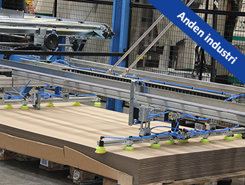 Palleteringsrobot hos Jessen Emballage