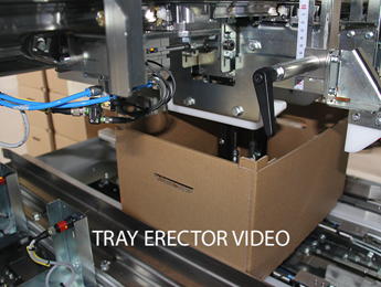 Tray erector - Egatec Packaging Int.