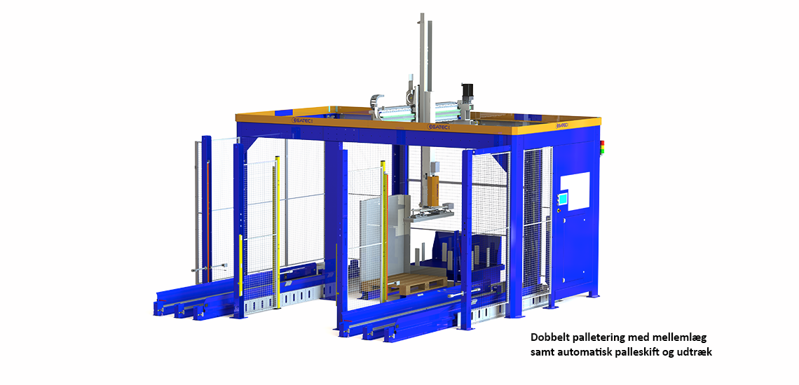 Palleteringsrobot - Egatec Packaging Int.